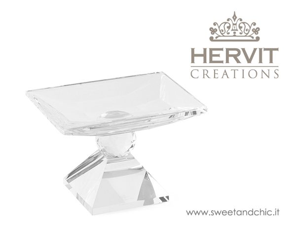 Hervit - Alzatina in Cristallo | Sweet and Chic