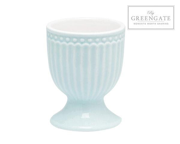 Greengate Porta uovo celeste Alice