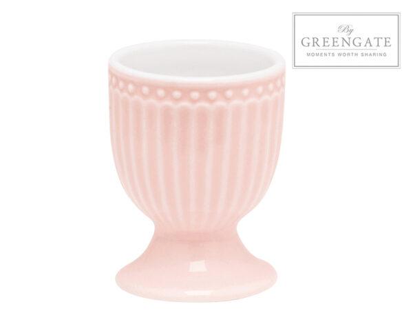Greengate Porta uovo rosa Alice